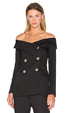 All That Admiration Blazer in Black