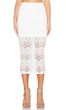 ASILIO Midnight Caller Skirt in Ivory