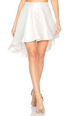 Cross the Fader Skirt in White