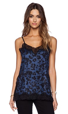 ASILIO The Seduction Game Cami in Blue Leopard