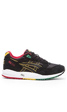 Asics Platinum Gel Saga in Black Black