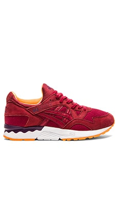 Asics Platinum Gel Lyte V in Burgundy Burgundy