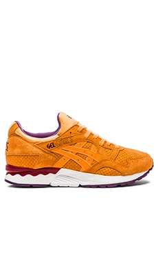 Asics Platinum Gel Lyte V in Orange Pop Orange