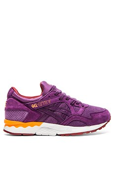 Asics Platinum Gel Lyte V in Purple Purple