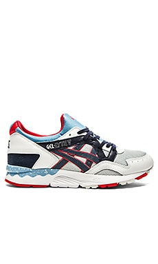 Asics Platinum Gel Lyte V in Soft Grey Navy