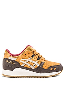 Asics Platinum Gel Lyte III in Tan Sand