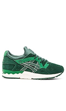 Asics Platinum Gel Lyte V in Dark Green Dark Green