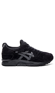 Asics Platinum Gel Lyte V in Black Black