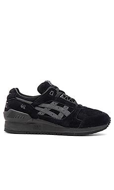 Asics Platinum Gel Respector in Black Black