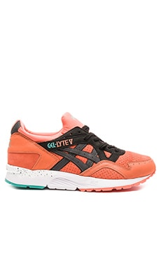 Asics Platinum Gel Lyte V in Coral Black