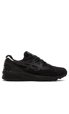 Asics Platinum Gel Kayano Trainer in Black Black