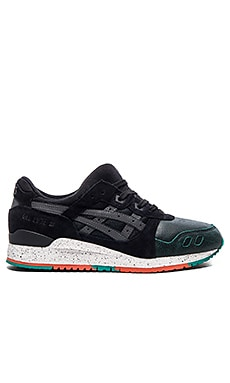 Asics Platinum Gel Lyte III in Black Black