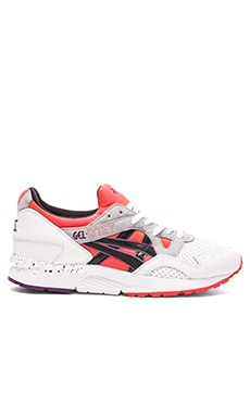 Asics Platinum Gel Lyte V in Red Black