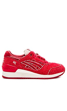 Asics Platinum Independence Day Gel Respector in Red