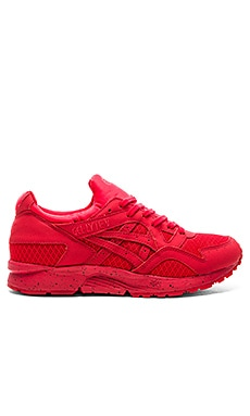 Asics Platinum Gel Lyte V in Red & Red