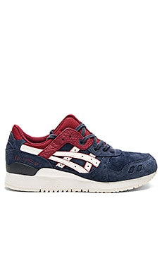 Asics Platinum Gel Lyte III in India Ink & Slight White