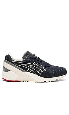 Asics Platinum Gel Sight in Navy & Black