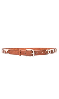 Shell Belt en Blanco