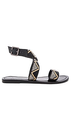 Chahana Sandal in Black