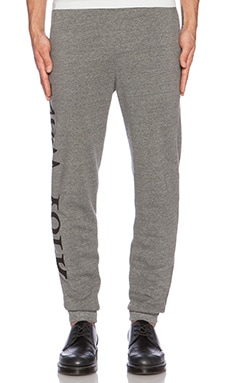 Assembly New York Graphic Sweatpant in Grey