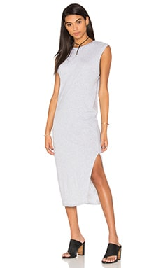 Playground Dress in Grey Marle