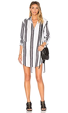 Fabric Shirt Dress