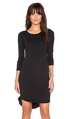 Assembly Label Moments Long Sleeve Dress in Black