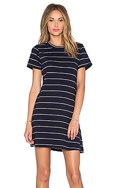 Assembly Label Atlas Mini Dress in Navy & White