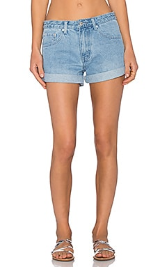 Assembly Label Relax Denim Short in Pale Denim