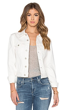 Assembly Label Femme Denim Jacket in White