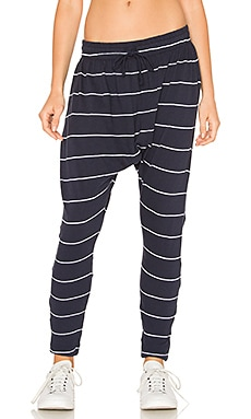 Apollo Studio Pant en Navy Stripe