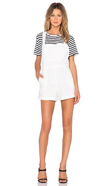 Assembly Label Florence Overall in White