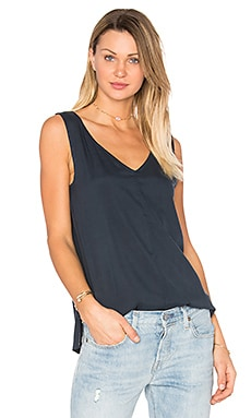 Motion Silk Top en Encre