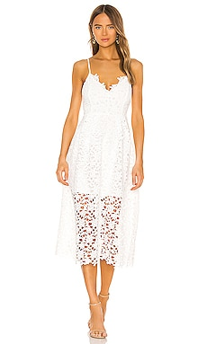 Lace A Line Midi Dress ASTR the Label $89 BEST SELLER