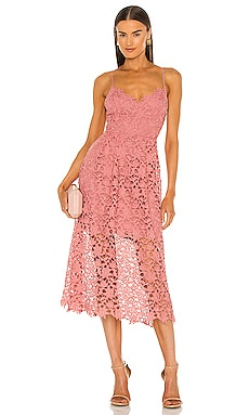 Lace A-Line Midi Dress ASTR the Label $89