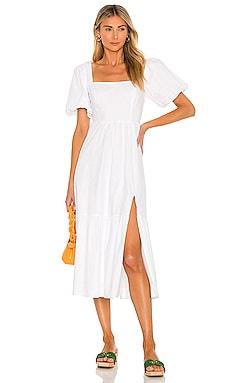 Poplin Tiered Dress ASTR the Label $128