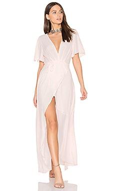Selma Dress in Blush
