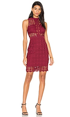 Vivian Dress in Wine