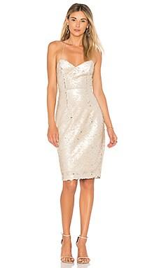 Купить Мини платье francesca - ASTR цвет металлический золотой