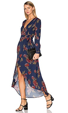 Isabel Dress in Navy Multi Floral