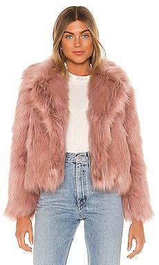 Adair Faux Fur Jacket ASTR the Label $248