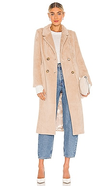 Daria Faux Fur Coat ASTR the Label $259