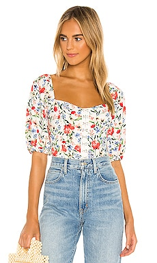 Hook & Eye Square Neck Top ASTR the Label $59