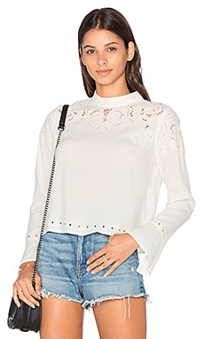 Winifred Blouse in Ivory
