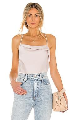 Drape Front Cami Bodysuit ASTR the Label $54