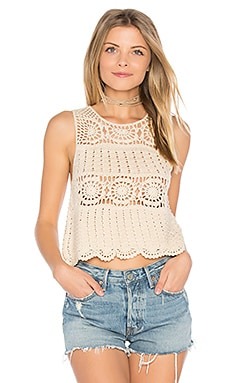 Noelle Top in Natural