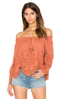ASTR Sofia Top in Spice