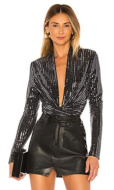 With A Twist Bodysuit ASTR the Label $98