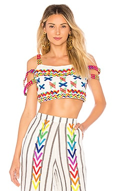 Belia Crop Top All Things Mochi $95