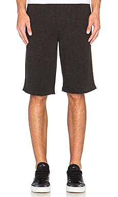 ATM Anthony Thomas Melillo French Terry Sweatshorts in Charcoal Heather